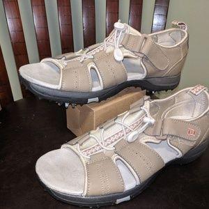 Footjoy greenjoy woman golf sandals size 9m
